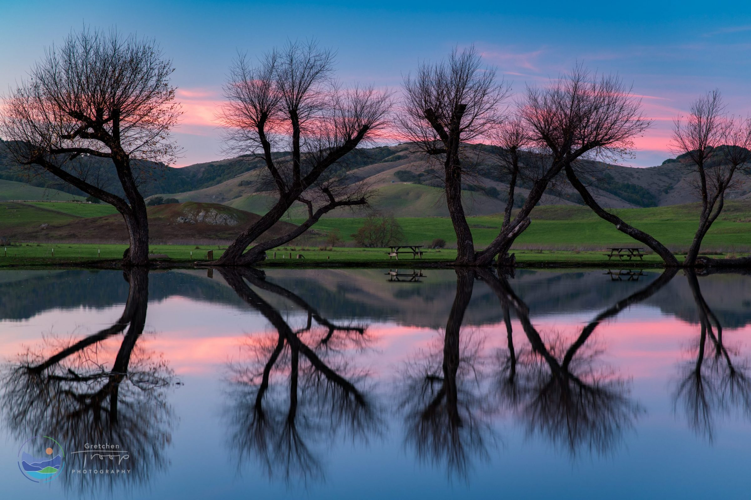 Perfect Twilight Reflection